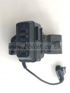 Sony A1 XLR adaptor