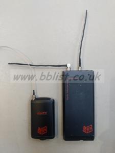 AUDIO LTD 2040   Radio Mic Set Mini   606.05 - 630.3