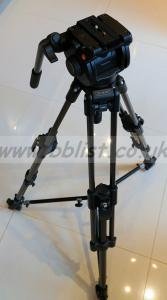 Manfrotto 351MVCF video tripod with 501HDV head