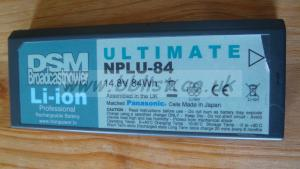 DSM Li on NPLU 84 lion battery np1m tipe