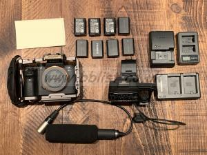 SONY A7Sii KIT (inc. CAGE, XLR INPUTS) - GREAT CONDITION!