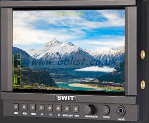 SWIT 7-inch Full HD High Bright 3G-SDI 4K-HDMI LCD Monitor