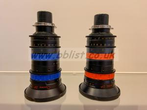 Angenieux DP Optimo 16-42 & 30-80mm f2,8 PL meter scale