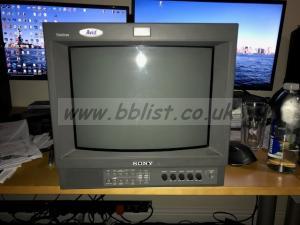 Sony PVM-14L2 CRT monitor