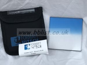 Formatt 4x4 Blue 2 Grad Soft Edge Filter