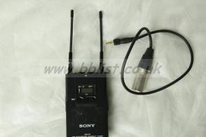 Sony URX-P2 true diversity receiver with XLR cable. CH38