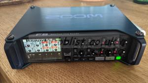 ZOOM F8 as new, with a lot of useful extras