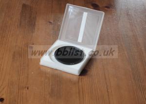 B+W 0.9 ND screw in filter - 62mm