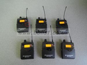 Sennheisser G3 EW300 IEMs and G3 ew100 sk100 transmitter