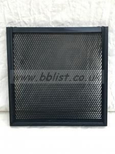 Litepanels 1x1 Honeycomb Grid 60 degrees fixed solid frame