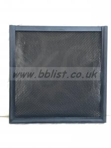 Litepanels 1x1 Honeycomb Grid 45 degrees Fixed solid frame