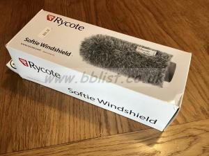 Rycote Softie Windshield 12cm 19/22mm diameter BOXED