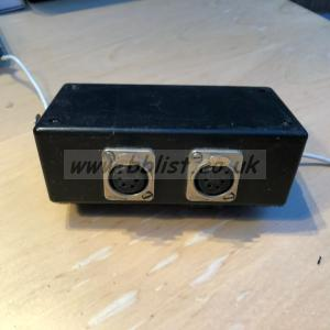 5 way 4 pin XLR hot box power distribution