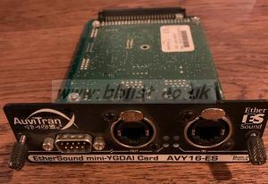 Yamaha EtherSound mini-YGDAI Card AVY16-ES