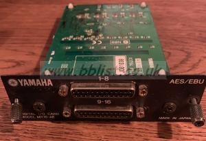 Yamaha mini-YGDAI Card MY16-AE AES/EBU card