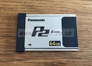 Panasonic P2 Card 64GB E Series