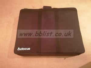 """Autocue 15"""" Starter Series with custom foam carry case"""