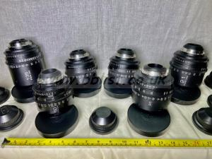 Set of 6 PL prime lenses