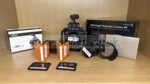 Blackmagic Production Camera 4K EF and accessories