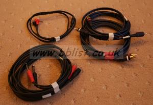 Misc Phono and Jack cables