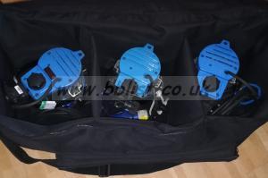 Arrilite 300w 3x lighting kit in Arri bag