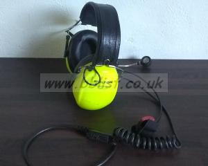 Peltor Headphones with Microphone