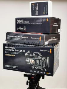 Blackmagic URSA Mini Pro 4.6K G2 (mint condition)