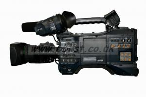 Panasonic HPX 371 with lens