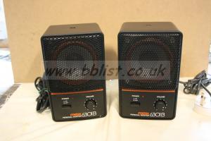 Fostex 6301B  Active monitors