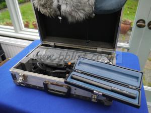 Sennheiser 416P kit and transit case