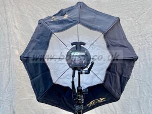 Dedolight DLH200S+ HMI soft light plus 3' Panaura Octodome
