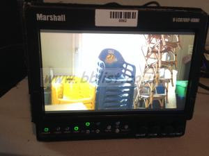 Monitor video LCD Marshall 7 inches HDMI screen camera
