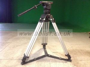 Sachtler video 20P with aluminium tripod for camera and camc