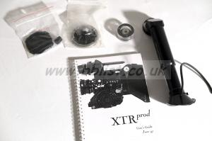 Seviced AATON XTR PROD Super 16 mm Camera Kit Aaton XTR PROD Manual in English, Long viewfinder and additional Aaton Mount kit to replace the PL Mount.