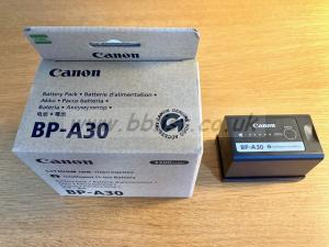 Canon BP-A30 battery, excellent condition, boxed