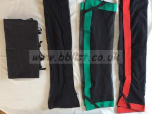 Selection of nets for frames and black for frame -flag cover