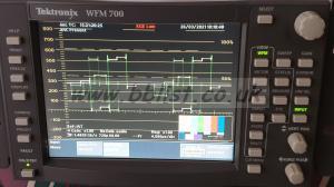 Tektronix WFM 700