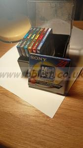 7 BRAND NEW unopened Sony mini disc's 74mins
