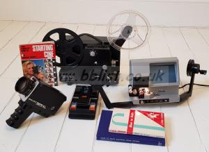 Bolex Super 8 Camera, Projector, Edit Viewer and Splicer