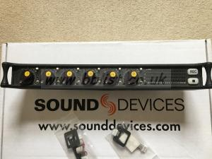 Sound Devices CL-6 for SD664 and 688 Mixer Recorders