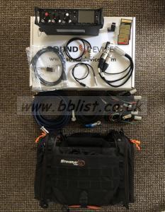 Sound Devices 633 Bundle - Ktek Bag, Cards, TC and Output Ca