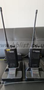 Motorola GP300 Walkie-talkie Sets. (2 x sets available)