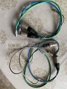 Audio input and power cables