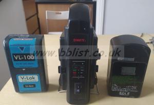 Swit Vlock Battery Charger, Hawkwoods battery vl 100