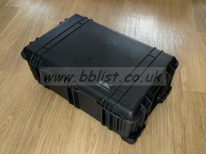 Peli 1650 case with padded dividers