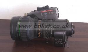Canon J17Ex7.7 WRSE B4 Broadcast Lens