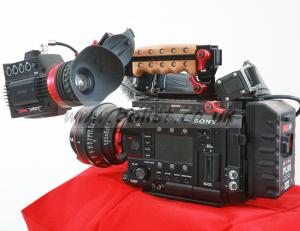Sony F5 Camera Kit Incl Canon 14mm T3.1mm & extras