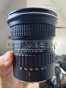 Tokina ATX 116 PRO DX AF11-16mm F/2.8 for canon