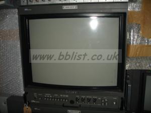 Various vintage broadcast monitors Sony BVM etc x5