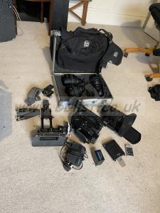 SONY PMWF3K full kit inc lenses and extras